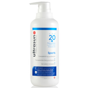 Ultrasun 20 SPF Sports Gel -aurinkogeeli (400ml)