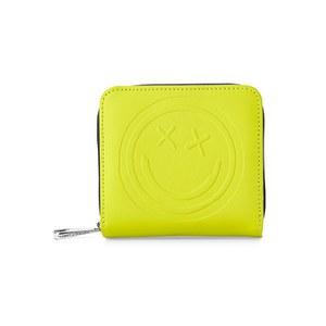 Aspinal x Être Cécile Mini Continential Wallet - Chartreuse