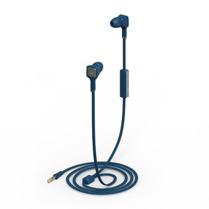 Ministry of Sound Audio Earphones - Blue and Gun Metal