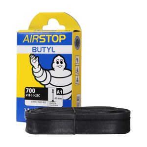 Michelin A1 Airstop Road Inner Tube - 700 x 18-25mm Presta 40mm - Damaged Packaging