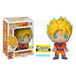 Dragon Ball Z Glow-in-the-Dark Super Saiyan Goku Pop! Vinyl