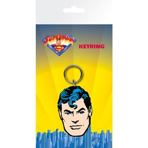 DC Comics Superman Face - Keyring