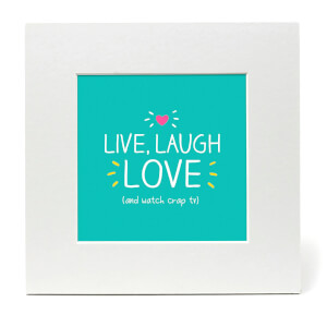 Happy Jackson Live Laugh Love Print