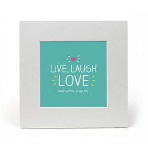 Happy Jackson Live Laugh Love Print