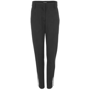 Wood Wood Women's Ruby Stripe Trousers - Black