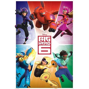 Disney Big Hero 6 Team - 24 x 36 Inches Maxi Poster