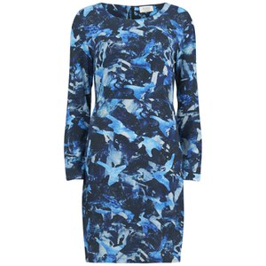 nümph Womens Kala Printed Dress - Blue