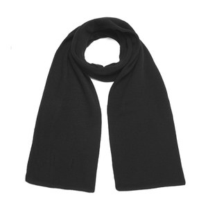 Han Kjobenhaven Men's Knitted Scarf - Black