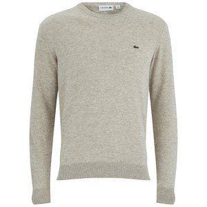 Lacoste Men's Round Neck Jumper - Cork