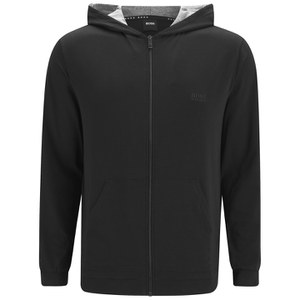 BOSS Hugo Boss Men's Small Logo Zipped Hoody - Black