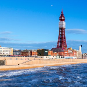 Entry to Blackpool Tower and Afternoon Tea for Two