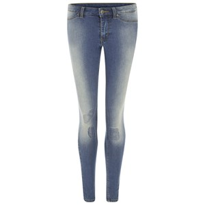 Cheap Monday Women's Super Soft Mid Rise Super Skinny Jeans - Denim Luv