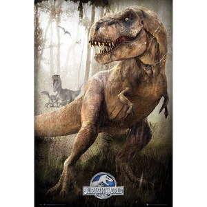 Jurassic World T-Rex - 24 x 36 Inches Maxi Poster