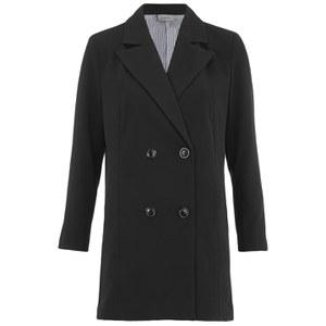 Vero Moda Women's Know 3/4 Sleeve Blazer - Black