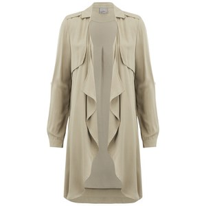 Vero Moda Women's Wonderland 3/4 Length Blazer - Silver Mink