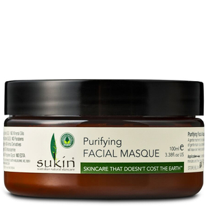 Masque purifiant Visage de Sukin 100ml