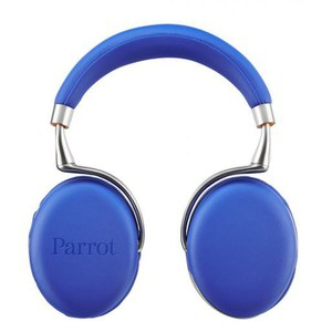 Parrot Zik 2.0 by Philippe Starck Wireless Touch Sensitive Headphones - Blue