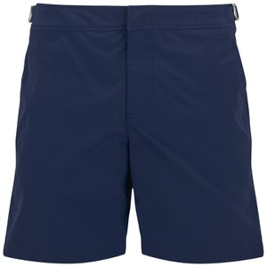 Orlebar Brown Men's Mid Length Bulldog Swim Shorts - Navy