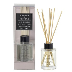 Parlane Wild Lily and Meadows Diffuser - White (65ml)