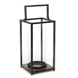 Parlane Glass Hurricane Lantern