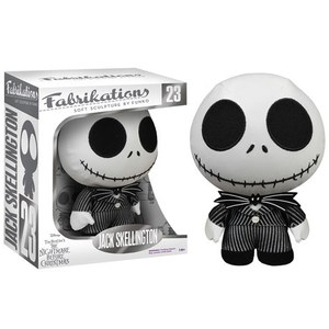 Disney Nightmare Before Christmas Jack Skellington Fabrikations Plush Figure