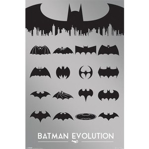 DC Comics Batman Evolution - 24 x 36 Inches Maxi Poster
