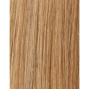100% Remy Colour Swatch Hair Extension de Beauty Works - Tanned Blonde 10/14/16