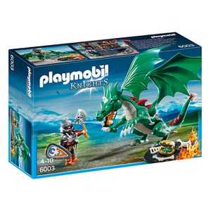 Chevalier avec grand dragon vert (6003) -Playmobil