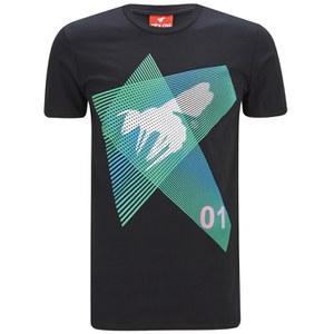 Abuze London Men's Light Streams T-Shirt - Black