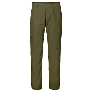 Jack Wolfskin Men's Chino Pants - Burnt Olive