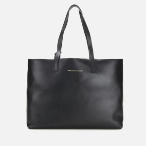 WANT LES ESSENTIELS Women's Strauss Horizontal Tote Bag - Jet Black/Metallic