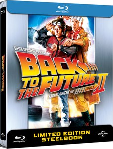 Back to The Future 2  - Zavvi Exclusive Limited Anniversary Edition Steelbook (UK EDITION)