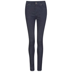 Nudie Jeans Women's Pipe Led Jeans - Dry Dark Navy