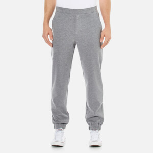Lacoste Live Men's Slim Fit Pants in Double Sided Jersey - Grey