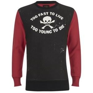 Vivienne Westwood Anglomania Men's Too Fast Sweatshirt - Black