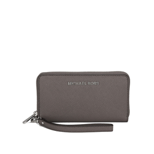 f35ef429911a MICHAEL MICHAEL KORS Women's Jet Set Zip Around Phone Purse - Cinder - Free  UK Delivery over £50