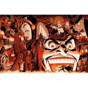 DC Comics Batman Comic Villains - 24 x 36 Inches Maxi Poster
