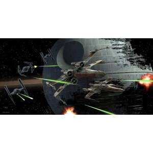 Affiche en Verre Star Wars Tie Fighter vs. X - Wing (50 x 25cm)