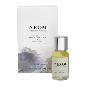 Neom Daily De-Stress Bath & Shower Oil olejek do kąpieli i pod prysznic (10 ml)