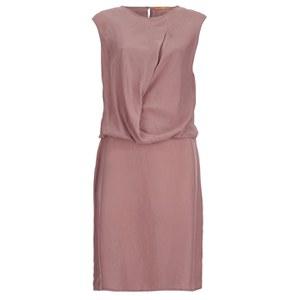BOSS Orange Women's Cammi Shift Dress - Medium Pink