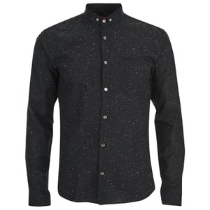 HUGO Men's Elden Long Sleeve Shirt - Black/Multi