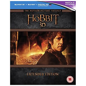 The Hobbit Trilogy 3D - Extended Edition