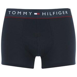 Tommy Hilfiger Men's Cotton Trunk Boxers - Navy Blazer