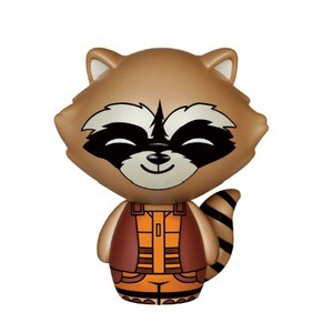Figura Dorbz Vinyl Sugar Rocket Raccoon - Guardianes de la Galaxia