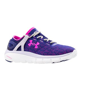 Under Armour Women's Speedform Fortis Running Shoes - Purple/Grey/Pink