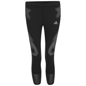 adidas Women's Sprintweb 3/4 Running Tights - Black