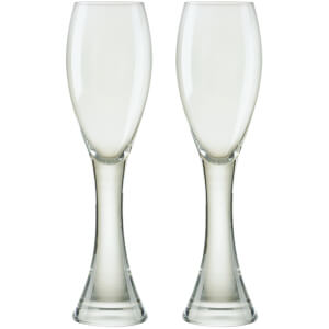 Anton Studio Designs Set of Two Manhattan Champagne Flutes