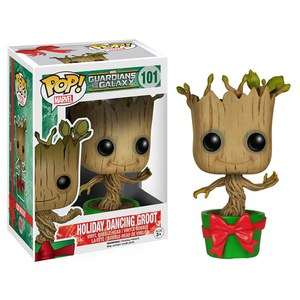 Guardians of the Galaxy Holiday Dancing Groot Funko Pop! Figuur