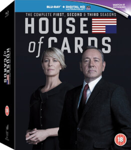 House Of Cards - Seasons 1-3 (Inklusive Ultraviolet)
