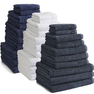 Highams 100% Egyptian Towel Bales (550gsm) - 4 Colour Options